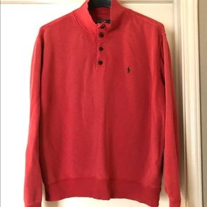 Polo by Ralph Lauren Shirts - Polo by Ralph Lauren Casual Sweatshirt - Red